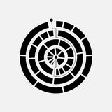 Abstract circle logo Royalty Free Stock Photos