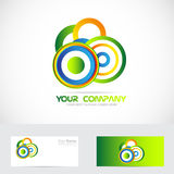 Abstract circle logo Stock Images