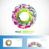 Abstract circle logo Royalty Free Stock Image