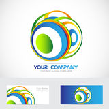 Abstract circle logo Stock Photo