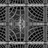 Abstract circle mesh Stock Images