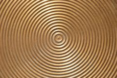 Abstract circle metal plate. Royalty Free Stock Photos
