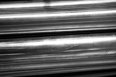 Circle metal tube. Abstract of circle metal tube for background used Stock Images