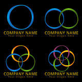 Abstract Circle Modern Logo Concept Royalty Free Stock Images