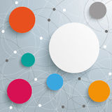 Abstract Circle Networks Royalty Free Stock Photos