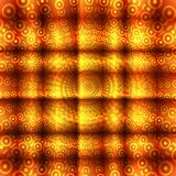 Abstract circle orange background Royalty Free Stock Photos