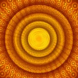 Abstract circle orange background for design Stock Images