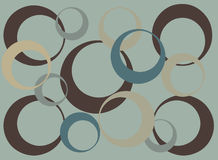 Abstract CIrcle pattern Background Royalty Free Stock Photo