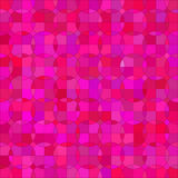Abstract Circle. Pink Background. Pink Mosaic Pattern Royalty Free Stock Images
