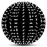 Abstract Circle with Random Holes. Eps 10 Vector Illustration of a Abstract Circle with Random Holes Royalty Free Stock Photo