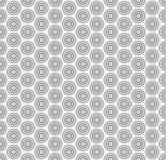 Abstract circle seamless pattern background. Vector illustration eps10 Stock Photos