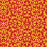 Abstract circle seamless texture. Abstract two color pattern of circles. Seamless texture Stock Image