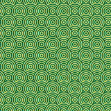 Abstract circle seamless texture. Abstract two color pattern of circles. Seamless texture Stock Photos