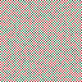 Abstract circle seamless texture xmas Royalty Free Stock Photos