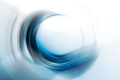 Abstract circle shape. On white stock photography