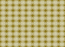 Abstract circle shape seamless pattern background Stock Photo