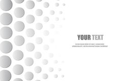 Abstract circle style background and space for text Stock Image
