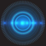 Abstract circle technology energy concept design background vector. Royalty Free Stock Images