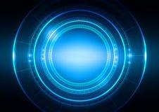 Abstract Circle Technology Light Blue Background. Abstract  Circle  Technology with Light Blue Background, Vector Illustration Stock Photos