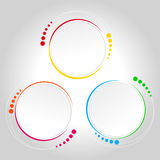 Abstract Circle Template - Infographics Royalty Free Stock Photography