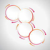 Abstract Circle Template - Infographics, Banner, Print Royalty Free Stock Photography