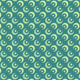 Abstract Circle Vector Pattern Royalty Free Stock Photo