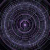 Abstract circle wallpaper in purple and dark colors royalty free stock photo