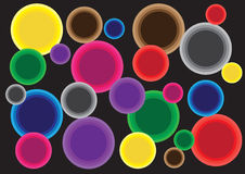 Abstract circles Royalty Free Stock Photography