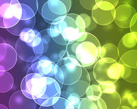 Abstract circles. Abstract multi-colored circles in the form of background prompt Stock Photo