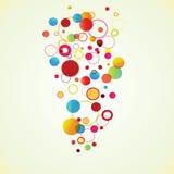 Abstract circles Royalty Free Stock Image