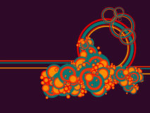Abstract circles Stock Image