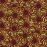 Abstract circles. Seamless background texture with an abstract bright circles, wallpaper pattern Royalty Free Illustration
