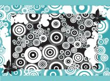 Abstract Circles Backdrop Royalty Free Stock Photography