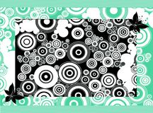 Abstract Circles Backdrop Stock Photo