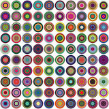 Abstract Circles Background Stock Photo