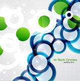 Abstract circles background Royalty Free Stock Photography