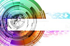 Abstract circles. Stock Photos