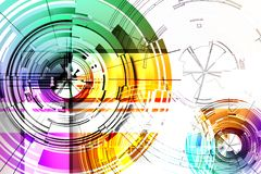 Abstract circles. Stock Images