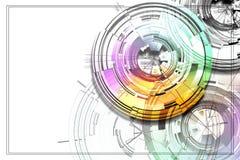 Abstract circles. Royalty Free Stock Photography