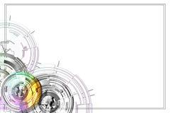 Abstract circles. Stock Photo