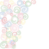 Abstract circles background. Stock Image