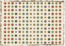 Abstract circles background. Colorful abstract wallpaper with circle mosaic tiles Stock Photo