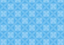 Abstract circles blue pattern background. Vector illustration royalty free illustration