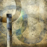 Abstract with circles Stock Photo