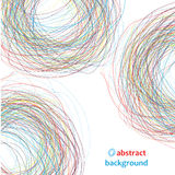 Abstract circles,doodle Royalty Free Stock Image
