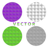 Abstract circles. Flat design, illustration royalty free illustration