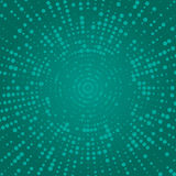 Abstract circles. Halftone effect. Abstract dotted background. V Stock Image
