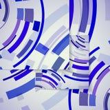 Abstract circles illustration Stock Photography