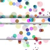 Abstract circles illustration Stock Image