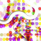 Abstract circles illustration Royalty Free Stock Photo